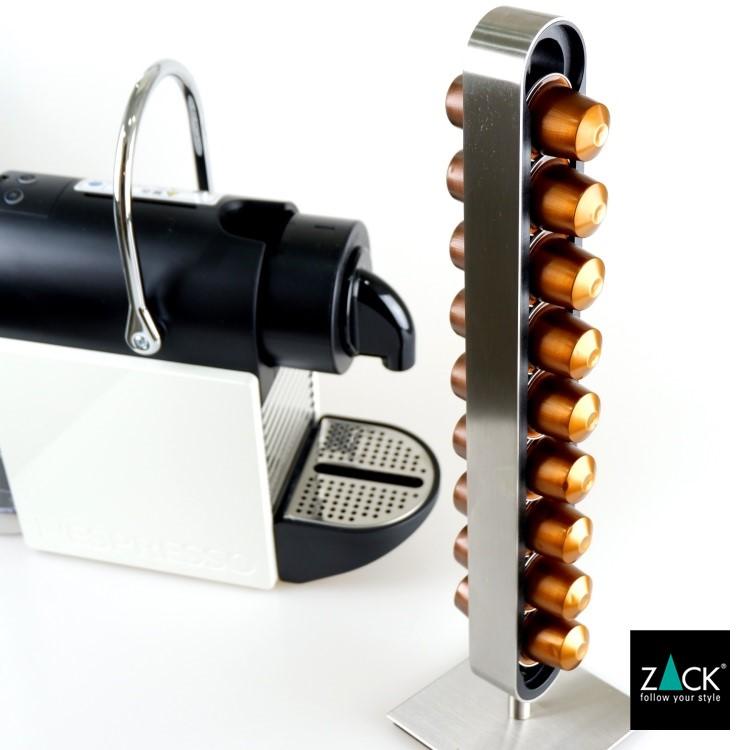 ZACK 20213 CURO ドイツZACK社製モダンデザインのネスプレッソ用カプセルタワー [在庫有り]