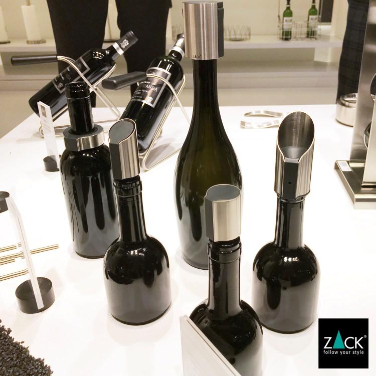 ZACK 20309 PREMIRO ドイツZACK社製モダンデザインのワインストッパー [在庫有り]