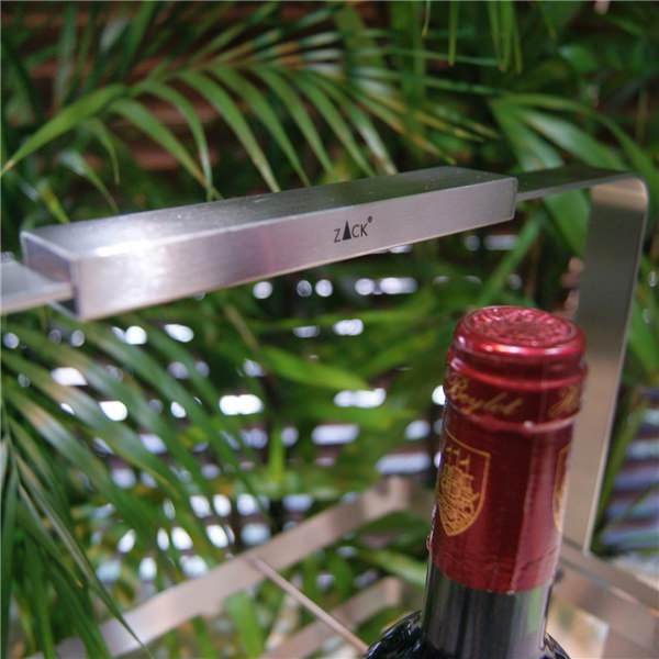 [廃番] ZACK 30797 ARTOR ドイツZACK社製モダンデザインのボトルキャリアー