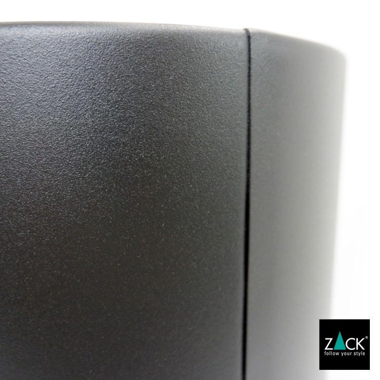 ZACK 50508 CIVOS ドイツZACK社製モダンデザインのゴミ箱 マットブラック [在庫有り]