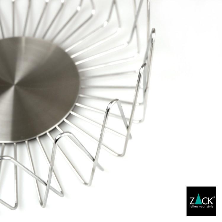ZACK 30656 BIVIO ドイツZACK社製モダンデザインのフルーツバスケット 幅広Lサイズ [お取寄せ]
