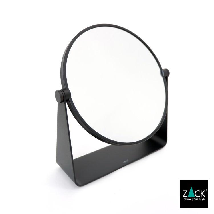 ZACK 40404 TARVIS ドイツZACK社製モダンデザインのスタンドミラー マットブラック [在庫有り]