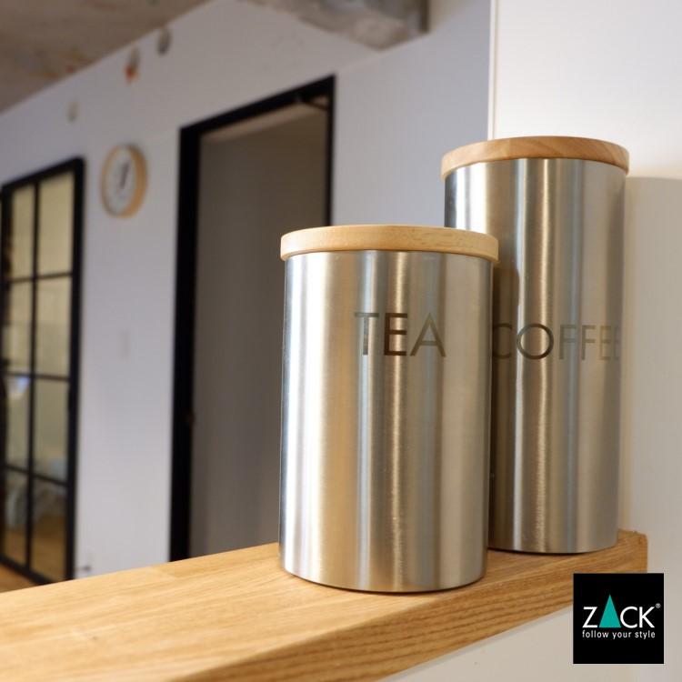 ZACK 24006 CERA ドイツZACK社製モダンデザインのコーヒーキャニスター [在庫有り]
