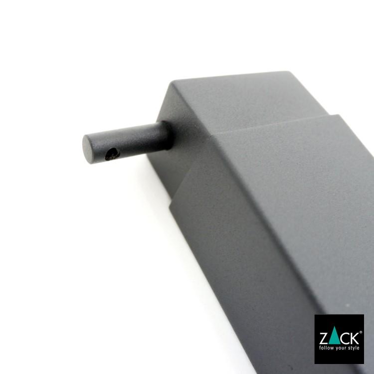 ZACK 40406 LINEA ドイツZACK社製モダンデザインのリキッドディスペンサー マットブラック [在庫有り]