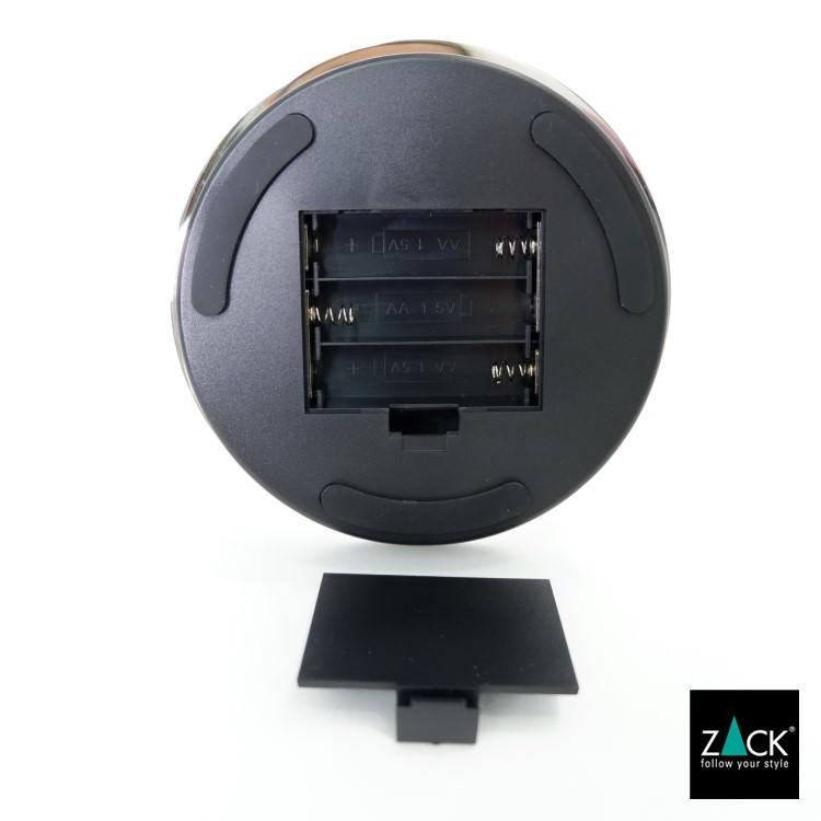 ZACK 40141 ALONA  ドイツZACK社製モダンデザインのLED メイクアップミラー(X5倍) 鏡面仕上げ [在庫有り]