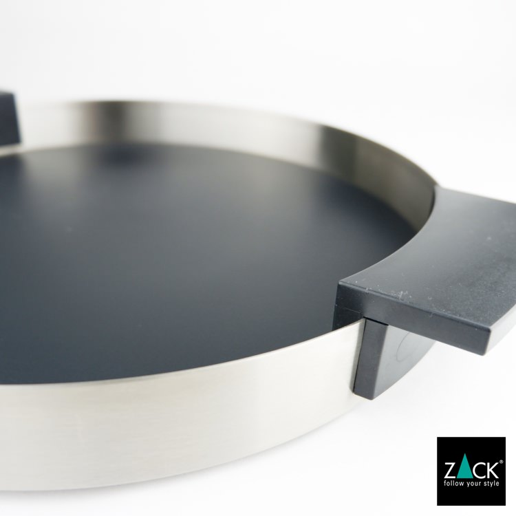 ZACK 20354 PREVIO ドイツZACK社製モダンデザインのラバーパッド付きトレイ [在庫有り]