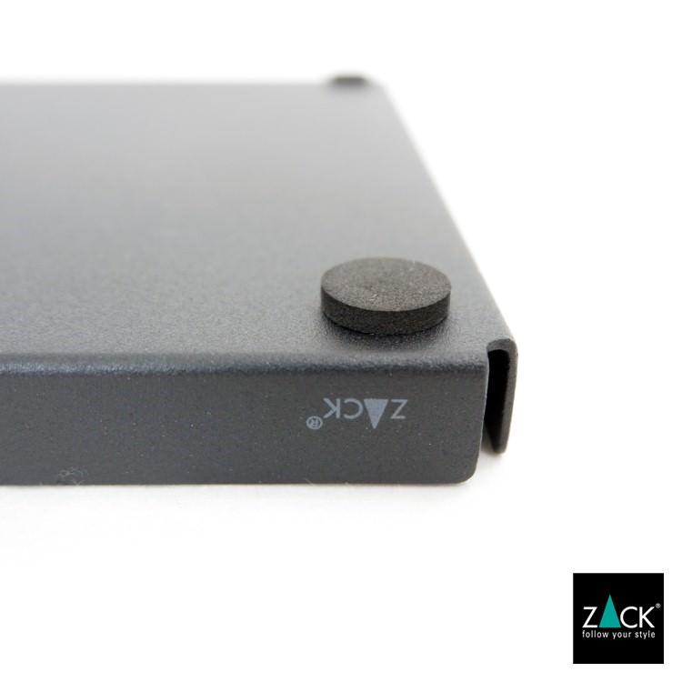 ZACK 40538 POTES ドイツZACK社製モダンデザインのトレイL マットブラック [在庫有り]