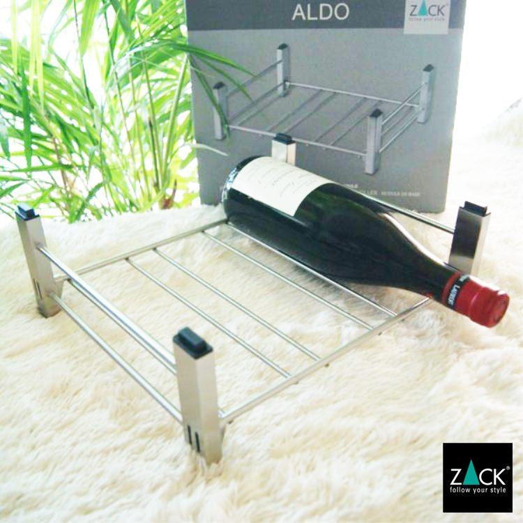 [廃番] ZACK 20543 ALDO ドイツZACK社製モダンデザインのボトルラック(ベースモジュール)
