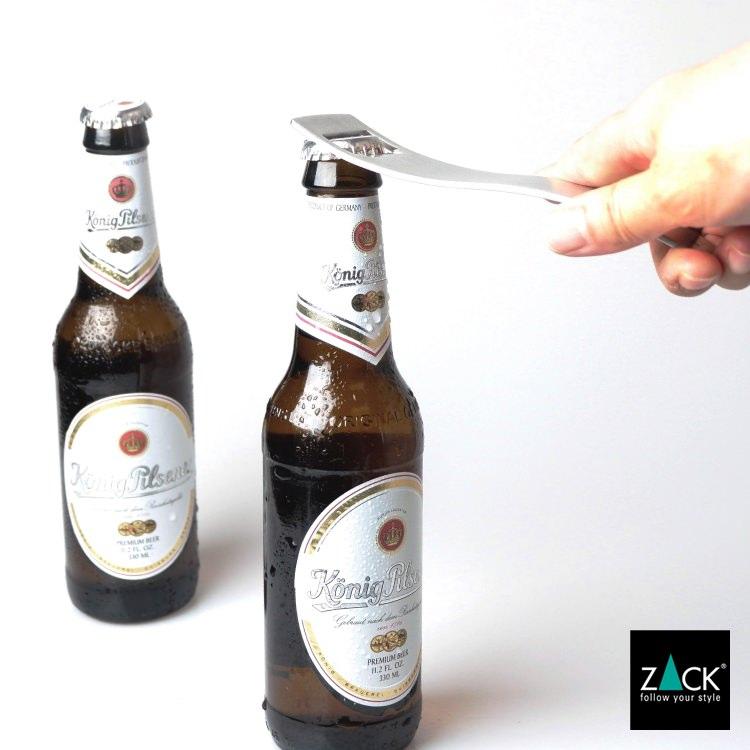 ZACK 20558 SINOS ドイツZACK社製モダンデザインのボトルオープナー(栓抜き) [在庫有り]