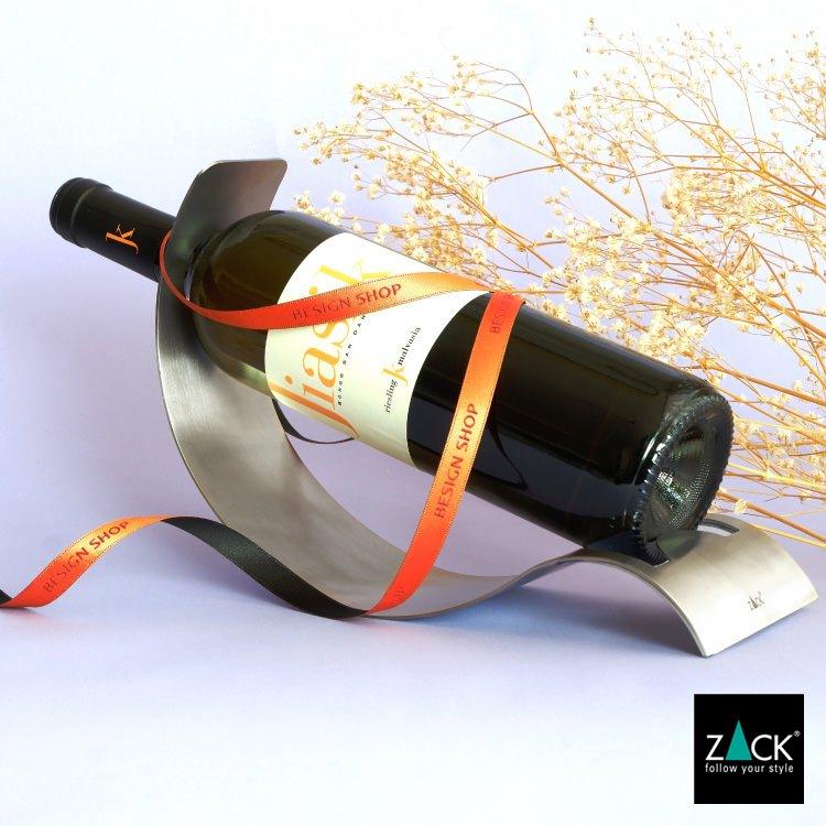 ZACK 20571 ONDO ドイツZACK社製モダンデザインのワインボトルホルダー [在庫有り]