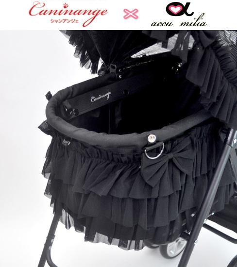 ≪再再販≫コラボ- ミアキス(Miacis)モデル 天使のカート×accu milia(アキュミリア)ティアードフリル