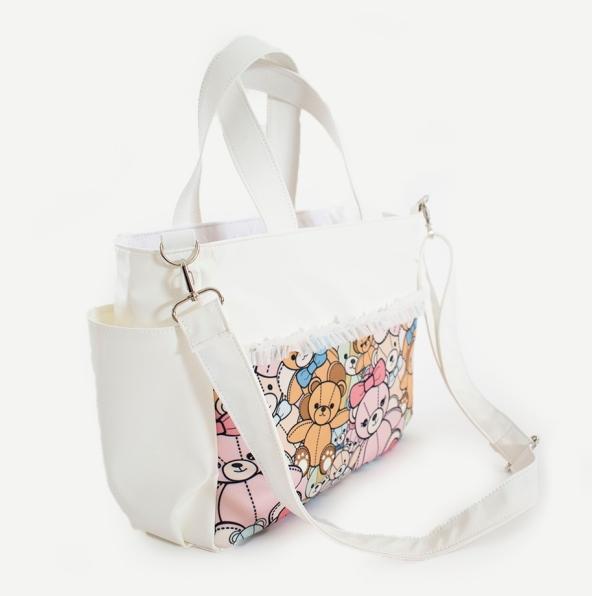 <コラボ>天使のカート×アキュベア フェイクレザーお散歩バッグ