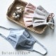 洗って使える抗ウイルス布製マスク  オーガニックコットン ボタニカルダイ 立体マスク  日本製 blissful/ブリスフル