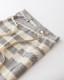 カフェエプロン メンズにもおすすめ 綿麻スラブダンガリー  ボーダー 日本製 blissful/ブリスフル