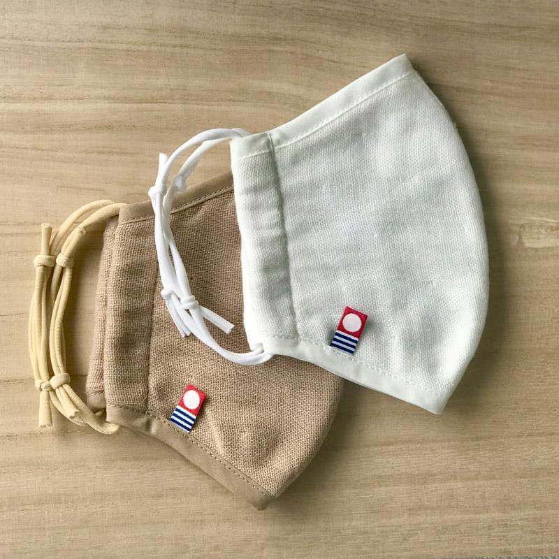 今治 洗える 抗菌消臭ガーゼマスク 布製 シートポケット付き 大きめサイズ 日本製 blissful/ブリスフル