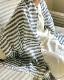 ガーゼストール 母の日ギフト UV対策 インディゴ染め 天然水仕立て 大判 男女兼用 インディゴ 日本製 blissful/ブリスフル