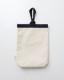 洗える ふんわり ルームシューズ  (シューズバッグ付き) 綿100%  ミックスネイビー 日本製  blissful/ブリスフル