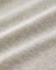 オーガニックコットン スウェットワンピース 五分袖 レディース ライトグレー ミニ裏毛 日本製 blissful/ブリスフル