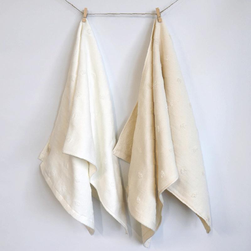 呼吸するオーガニックコットンタオル 天然酵素仕立て バスタオル 湯上げタオル 今治 日本製 blissful/ブリスフル