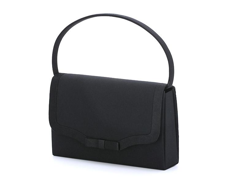 ブラックフォーマルハンドバッグ