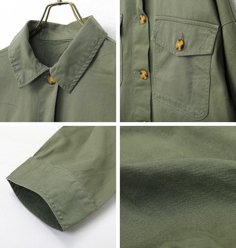 ツイルCPOシャツジャケット