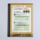 【BGSオリジナル】鳥さん健康手帳[ペレット切り替えチェック表]5枚入り