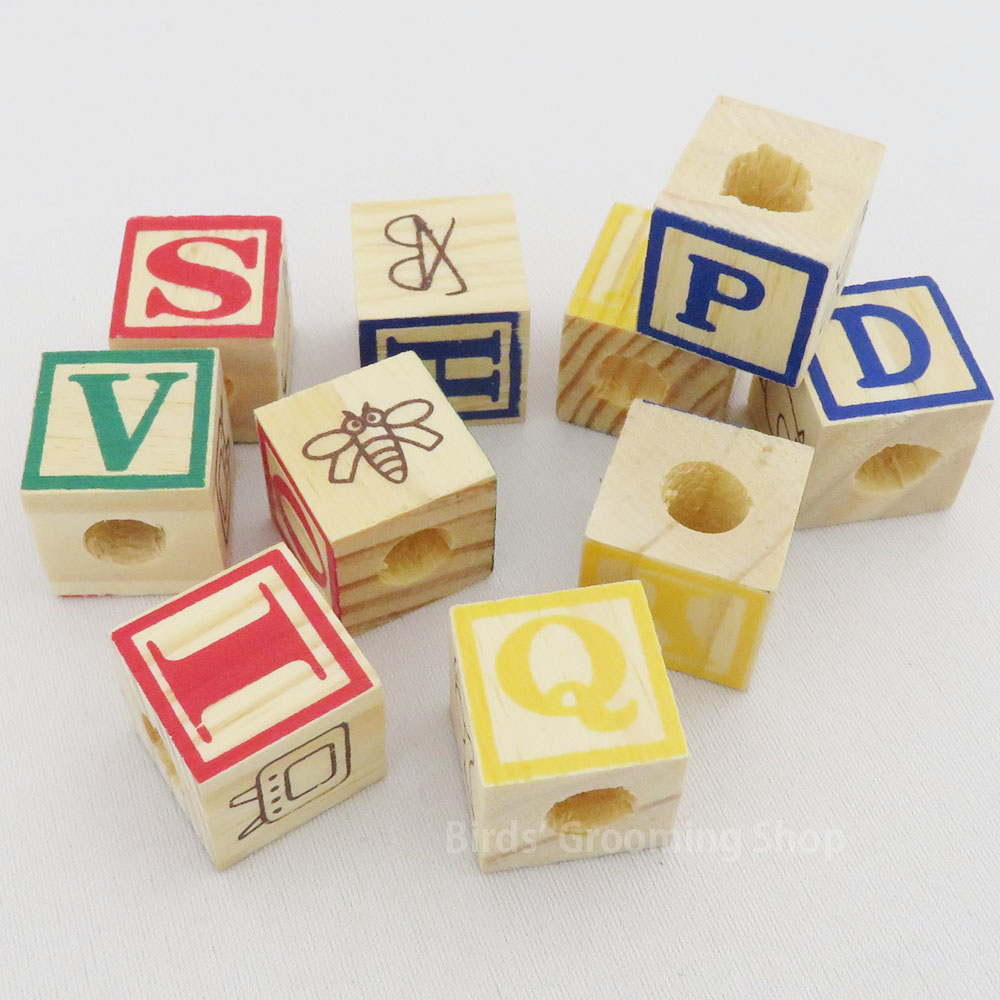 ABCブロック(小)[ABC WOOD BLOCKS]