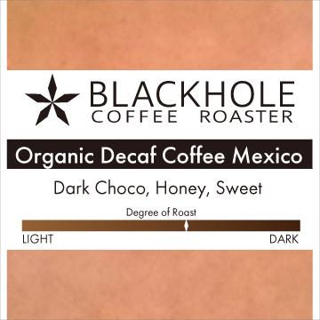 オーガニック ディカフェコーヒー メキシコ 中煎り コーヒー豆 100g カフェインレス