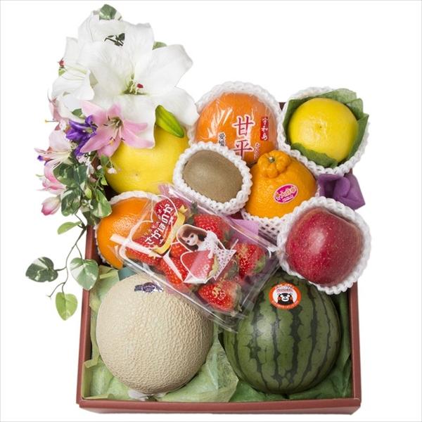 �四十九日、一周忌などのご法要に豪華な果物籠
