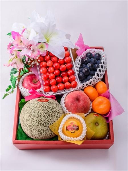 �お盆や法事のお供物に重宝する果物籠