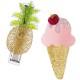 lilies&roses|リリーズ&ロージーズ パイナップル+アイスクリームクリップ 2個セット