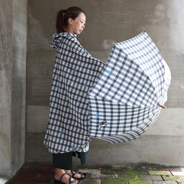 392/サンキューニ 折畳傘 50cm Gingham