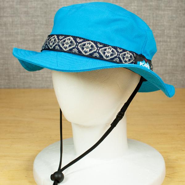 KAVU/カブー キッズストラップバケットハット Turquoise