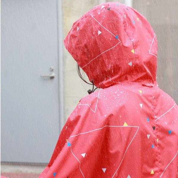 392/サンキューニ レインポンチョ 大人 Maru-A20