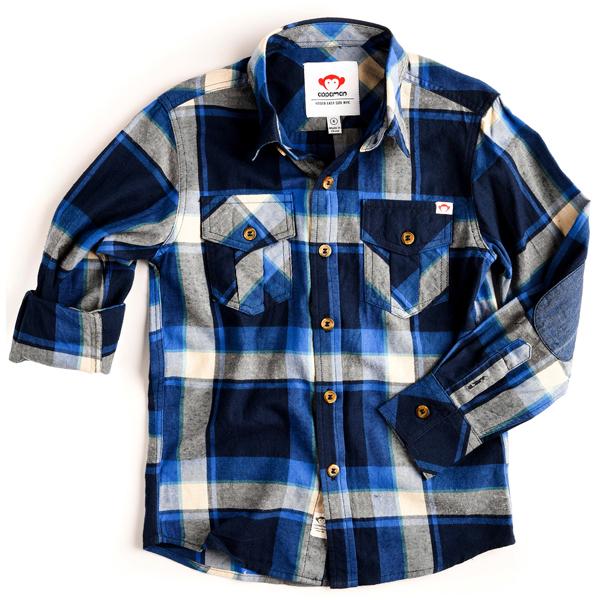 APPAMAN/アパマン フランネルシャツ Dress Blues Plaid