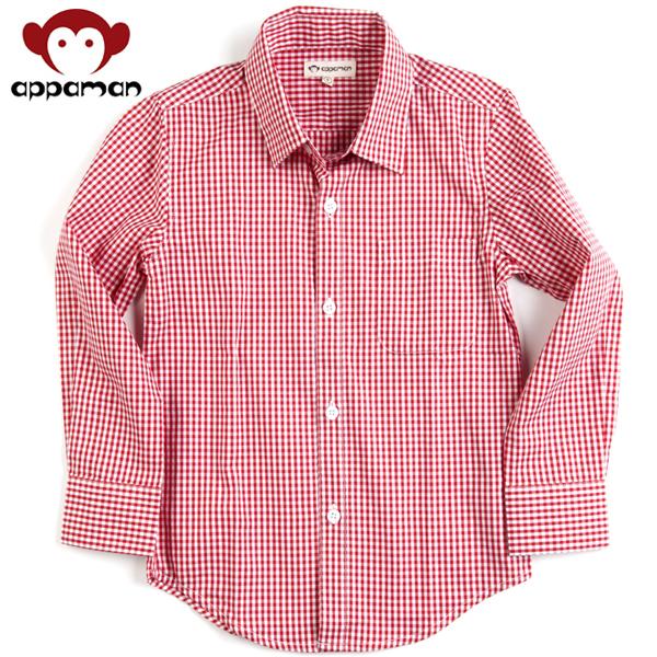 APPAMAN/アパマン スタンダードシャツ|Red Gingham