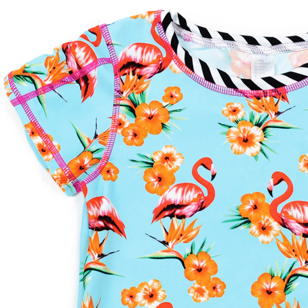 APPAMAN/アパマン タヒチラッシュガードセット|Flamingo