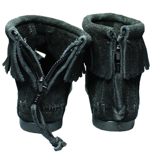 MINNETONKA/ミネトンカ バックジップブーツ(2289)|ブラック
