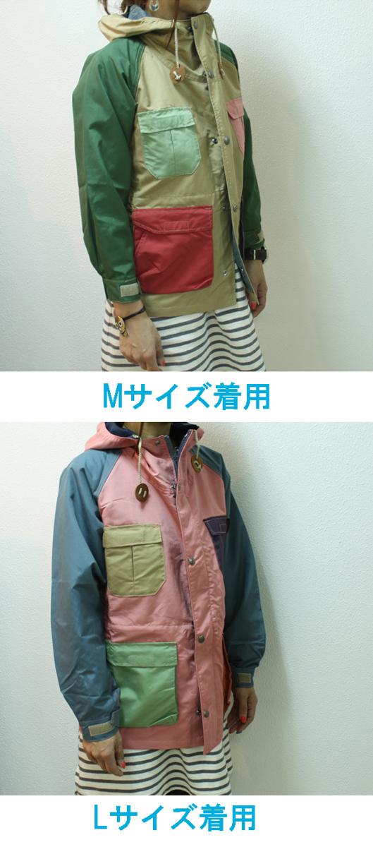 SIERRA DESIGN/シェラデザイン キッズマウンテンパーカー Candy Base