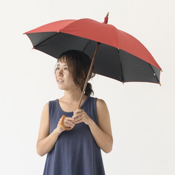 392/サンキューニ PU日傘 晴雨兼用 47cm