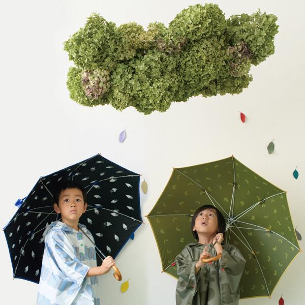 392/サンキューニ キッズPU日傘 晴雨兼用 50cm