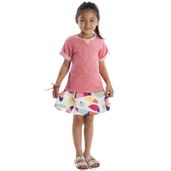 APPAMAN/アパマン エセックスTシャツ Salmon Rose