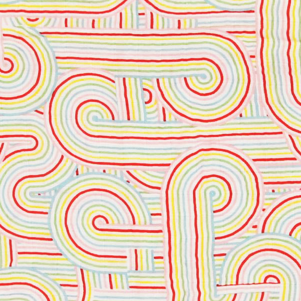 OLIVER+KIT/オリバープラスキット バンブースワドル|Rainbow Connection