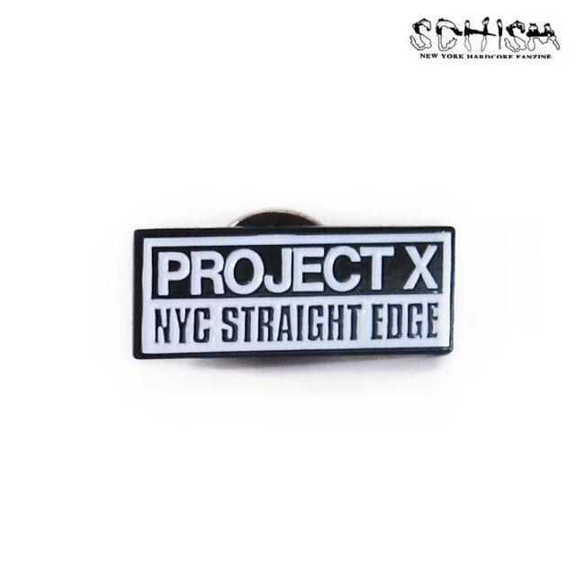 Schism Records / スシマレコード -  Project X エナメルピンズ