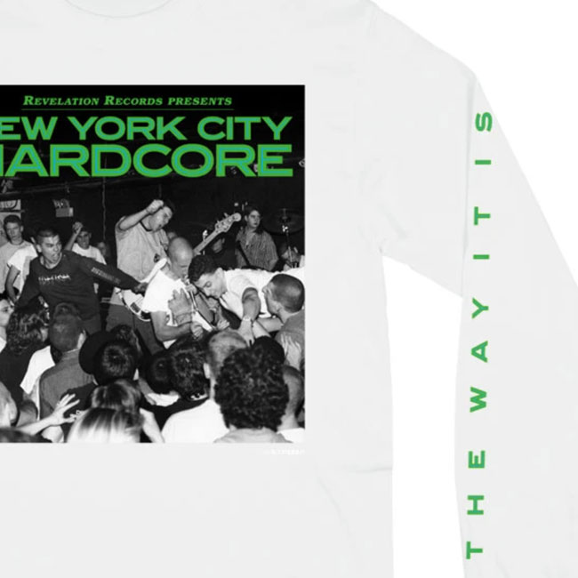 V/A NEW YORK CITY HARDCORE / The Way It Is ロングスリーブ(ホワイト)