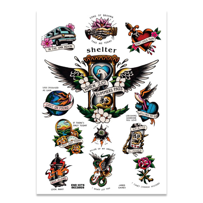 SHELTER / シェルター - 'WHEN 20 SUMMERS PASS - DELUXEセット(レコード:ホワイト)