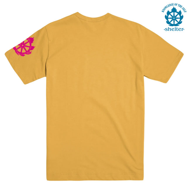 SHELTER / シェルター -SONG OF BRAHMA Tシャツ (イエロー)
