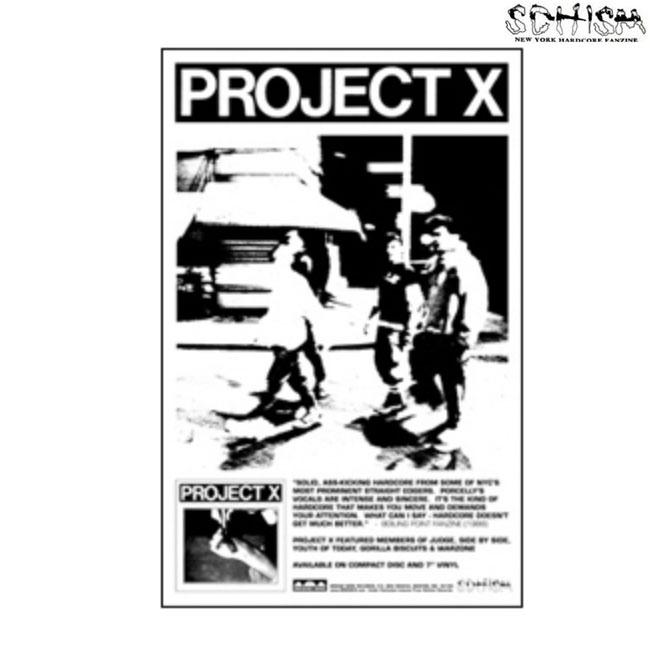 Schism Records / スシマレコード -  Project X ポスター