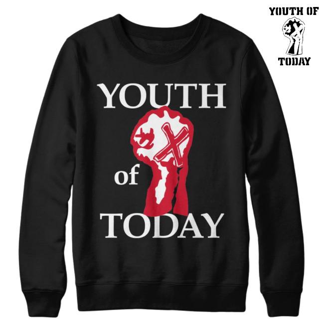 Youth Of Today / ユース・オブ・トゥデイ - Fist クルーネック・トレーナー(ブラック)