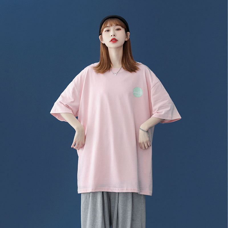 バックプリント Tシャツ  ビッグシルエット 韓国 ファッション メンズ レディース ゆったり 半袖 ユニセックス ストリート系 ストリートファッション カジュアル 春 秋 夏 個性 大きいサイズ